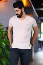 Erkek Bej T-Shirt - TŞT002400003