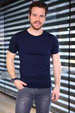 Erkek Lacivert T-Shirt - TŞT002400002